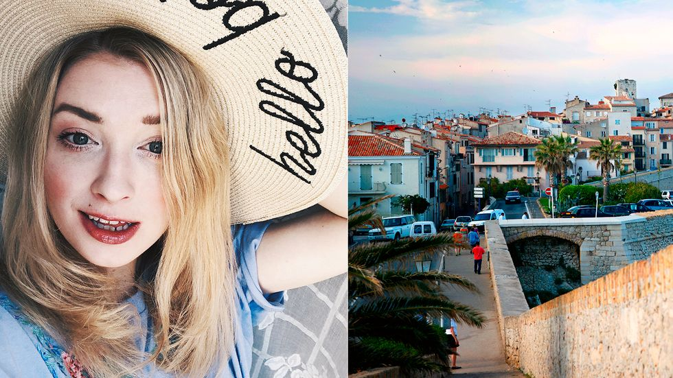 Sandra Beijer. bloggare och författare, reser gärna till New York, Köpenhamn och franska Rivieran.