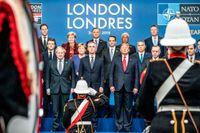Möte mellan stats- och regeringschefer firar 70-årsjubileet för militäralliansen (NATO).