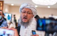 Talibanska övergångsregeringens biträdande premiärminister Abdul Salam Hanafi.