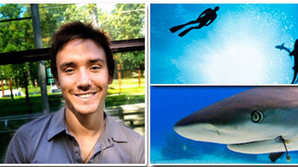 Arbetet med Sharkwater tog fem år och filmaren Rod Stewart hann med att besöka 15 länder under perioden. Nu är han i Sverige i samband med premiären.