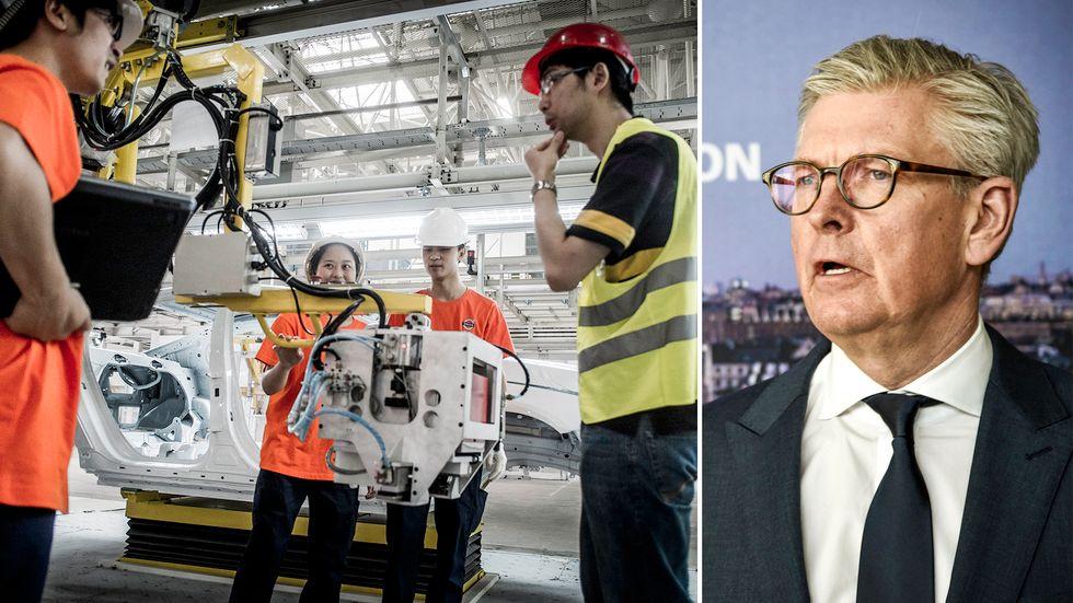 Börje Ekholms besked att Ericsson ska minska på sina affärsresor börjar ge ringar på vattnet.