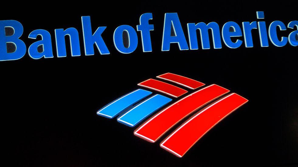 Bank of America får liksom andra amerikanska storbanker draghjälp av återtag av avsättningar för befarade kreditförluster. Arkivbild
