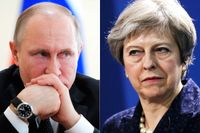 Mordförsöket på den ryske ex-spionen Sergej Skripal har lett till iskalla relationer mellan Vladimir Putins Ryssland och Theresa Mays Storbritannien.