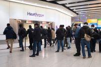 Heathrows flygplats utanför London. Arkivbild.
