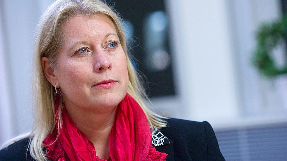 Catharina Elmsäter-Svärd utsågs till infrastrukturminister vid regeringsombildningen 2010.