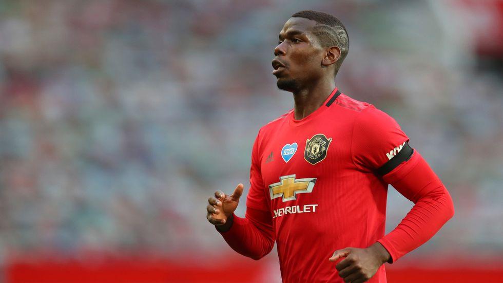 Manchester Uniteds och Frankrikes Paul Pogba är coronasmittad och kan inte spela mot Sverige.