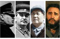 Hyllade av sin tids intellektuella: Mussolini, Stalin, Mao och Castro.