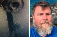 Martin Schreuder, universitetslektor i fartygsteknik på Chalmers, förklarar varför skadan på Estonia kan ha blivit synlig.