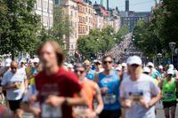 Drygt 200 löpare kan ha sprungit fel i årets Stockholm Marathon.