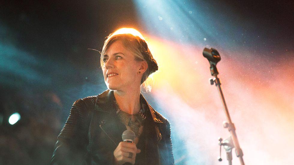 Popartisten Annika Norlin på Way Out West