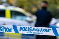 Poliser utsattes för stenkastning i Uppsala. Arkivbild.