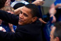 Barack Obama möter väljare i Austin, Texas, 2007.