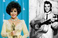 Elizabeth Taylor och Elvis Presley.