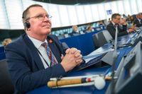 Svenske EU-parlamentsledamoten Erik Bergkvist (S). Arkivbild.