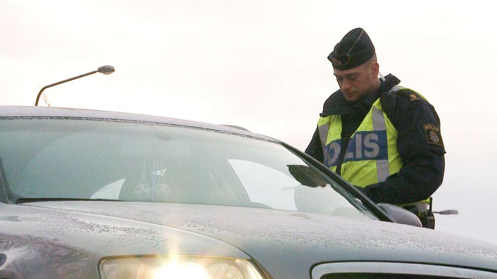 Den kommande veckan satsar polisen på nykterhetskontroller i trafiken. Arkivbild.
