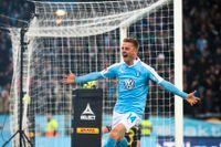 Malmö stad har redan gratulerat Anders Christiansens MFF till SM-guldet.