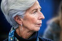 """ECB-chefen Christine Lagarde varnar för att världen kan komma """"se ett scenario som påminner om finanskrisen 2008"""" om inte tillräckliga stimulansåtgärder sjösätts."""