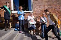 I Mälarhöjdens skola pågår röstningen för fullt. Foto: Dan Hansson
