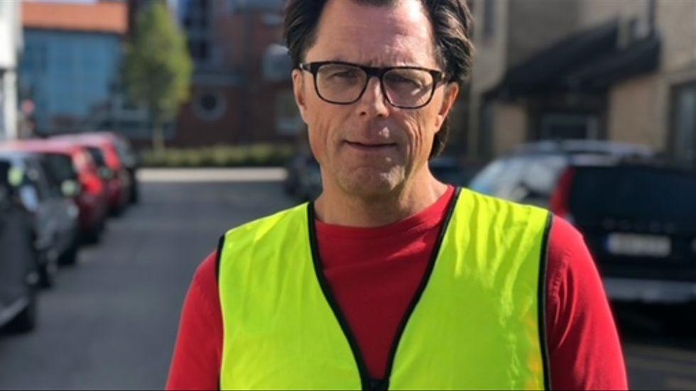 Greger Strömqvist är vd på logistikbolaget Mantum