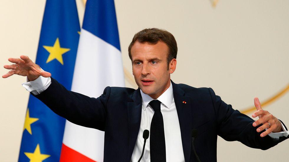 Emmanuel Macrons parti har hjälpt den liberala gruppen att gå framåt i EU.