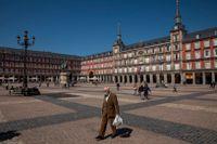 Mannen greps i Spaniens huvudstad Madrid. Arkivbild.