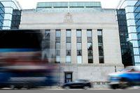 Kanadas centralbank, Bank of Canada, sänker den viktigaste styrräntan. Arkivbild