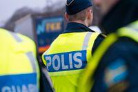 Polisen har höjt närvaron i Falun efter de uppmärksammade rånförsöken på torsdagskvällen. Arkivbild.