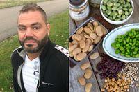 Patrik Olsson tappade 25 kilo på 2,5 månader genom att äta 0,5 dl bönor före och efter varje måltid.