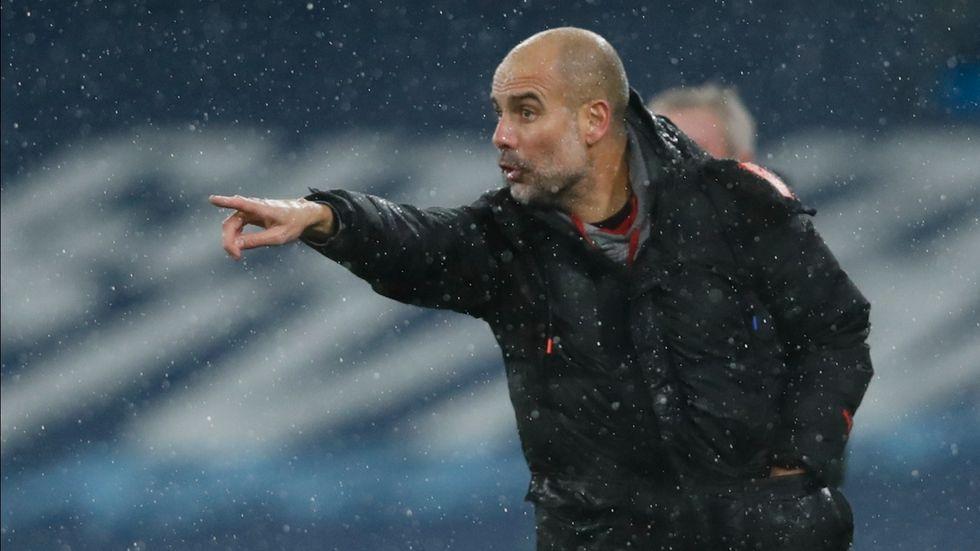 Manchester Citys manager Pep Guardiola. Arkivbild.