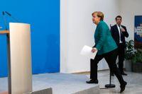 Angela Merkel är på väg att fortsätta som kansler.