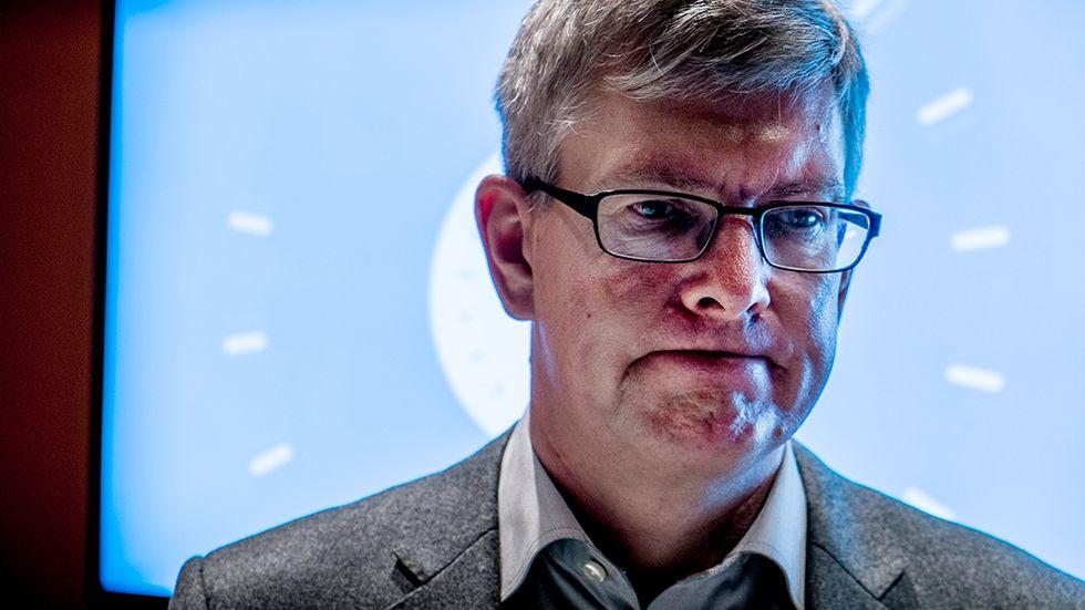Börje Ekholm, Nasdaqs ordförande.