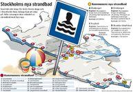 Stockholmare får fyra nya bad