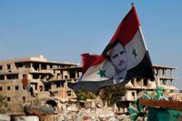 Representanter från den syriska regimen polisanmäls i Sverige för för krigsförbrytelser och brott mot mänskligheten i Syrien. Arkivbild.