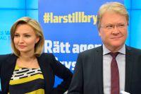 Ebba Bush Thor och Lars Adakutsson (KD).