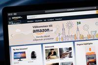 Amazon har lanserat sin svenska sajt.