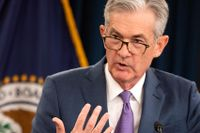 Fed-chefen Jerome Powell.