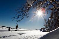 Snön dröjer ett tag till på de flesta håll – men vintern är redan här, åtminstone i stora delar av Sverige. Arkivbild.