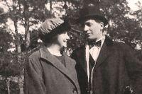 SvD-läsaren Britt-Marie Almströms föräldrar, Margit och Knut, upplevde den svåra tiden i Stockholm för 100 år sedan.