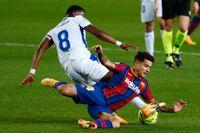Barcelonas Philippe Coutinho skadade sig i tisdagens 1–1-match hemma mot Eibar.