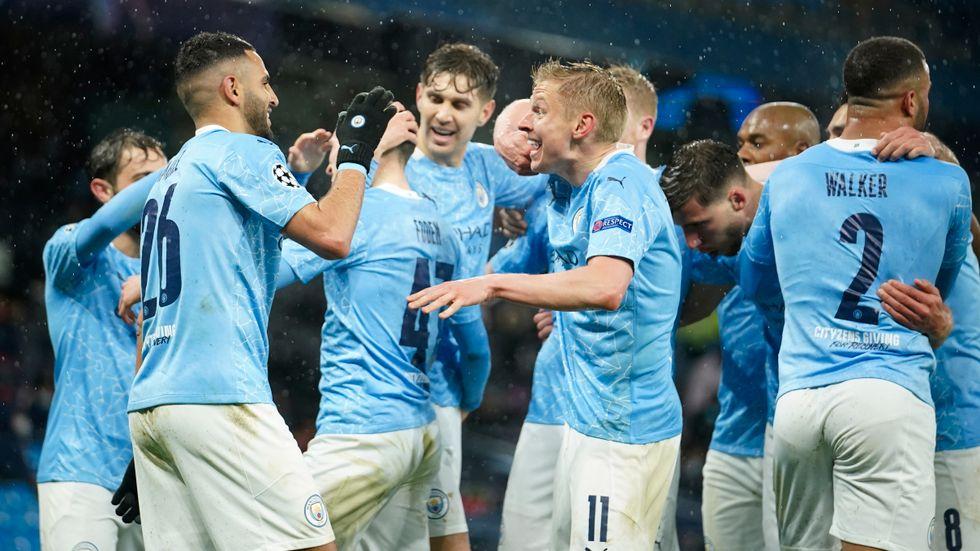 Manchester City är engelska ligamästare efter Manchester Uniteds förlust på tisdagskvällen. Arkivbild.