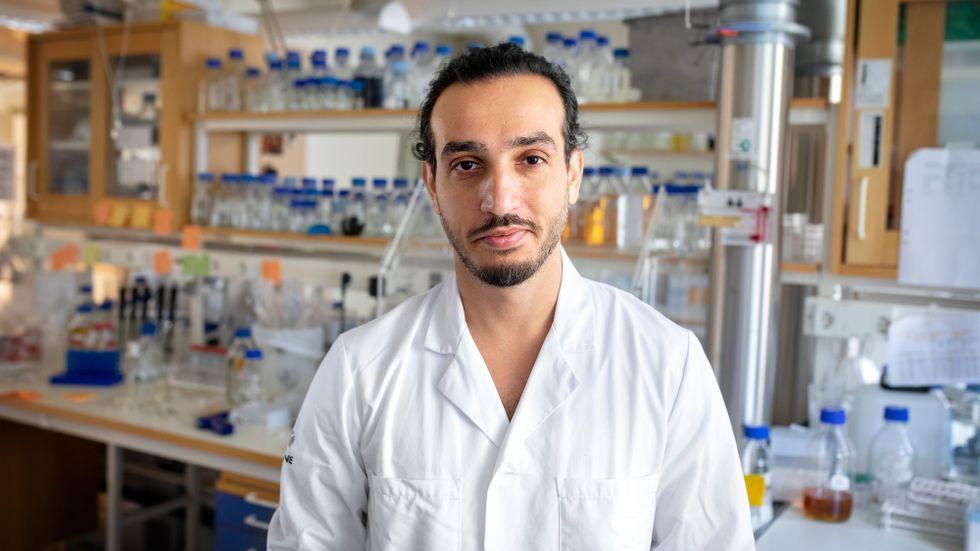 Farshid Jalalvand är själv uppvuxen i ett av områdena med lägre vaccintäckning än snittet.