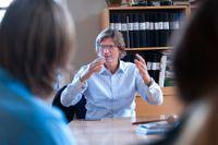 Niklas Zennström besökte entrepenörseventet på katedralsskolan i Uppsala.