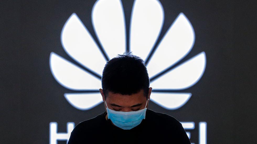 Amerikanska elektronikjätten Intel får licens av amerikanska myndigheter att handla med svartlistade Huawei. Arkivbild.