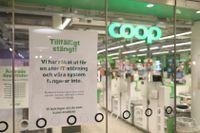 Livsmedelskedjan Coop drabbades av en nätattack under helgen.
