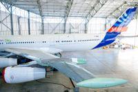 Saabs nya vinge kan sänka bränsleförbrukningen med 10 procent. Vingen testas nu på ett gammalt plan från Airbus.