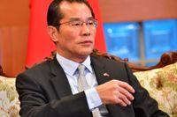 Kinas ambassadör Gui Congyou. Arkivbild.