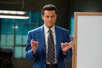 Leonardo DiCaprio som Jordan Belfort.