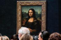 Den som vill se Leonardo da Vincis mästerverk Mona Lisa utan glas kan lägga ett bud på Louvrens upplevelse-auktion.