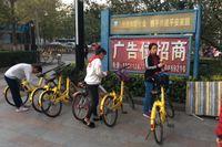 Delningscyklar i Peking.