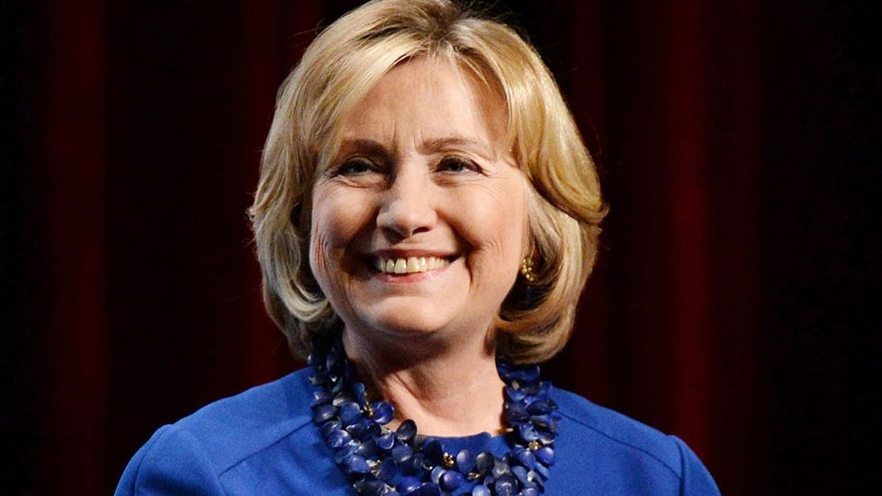 Hillary Clinton, tidig favorit att ta hem 2016-års presidentval i USA.